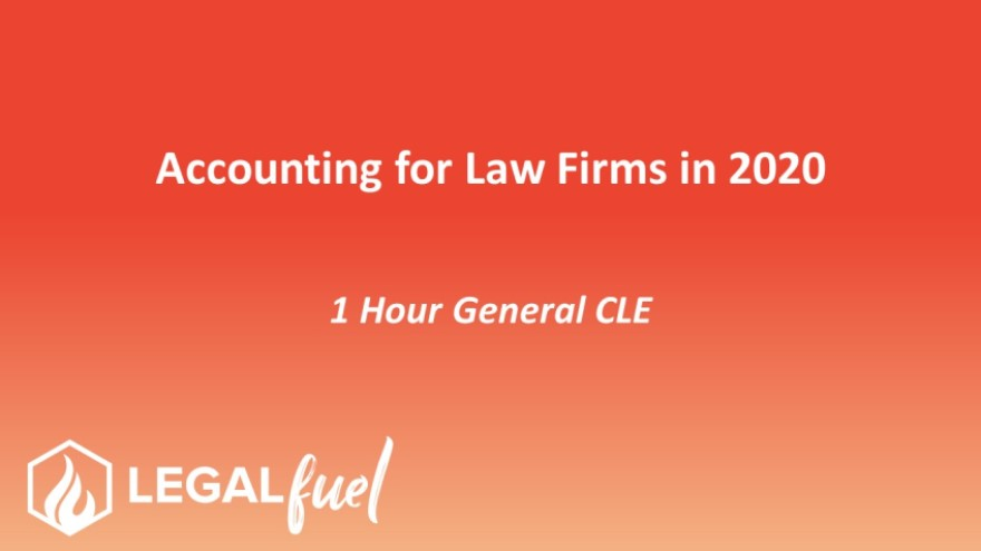 3793 Accounting for Law Firms