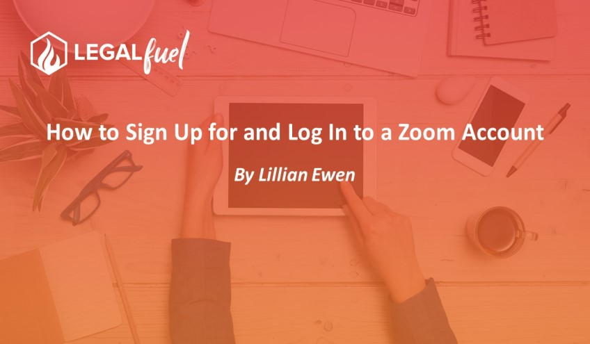 How to Sign Up for and Log In to a Zoom Account